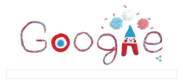 mode,crochet,flowers i,the snow,solveig grimstad,julie adore,google,doodle,14-juillet