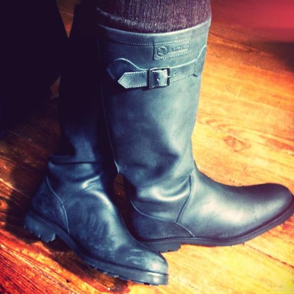Je les avais déjà repérées, les bottes Chantebelle d\u0027Aigle, Premium, en  version cuir et en beige, chez Spartoo. C\u0027était en octobre dernier.