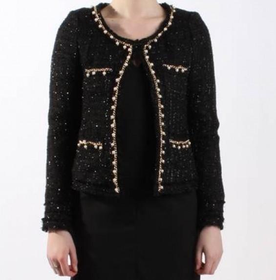 danity veste tweed noir.jpg